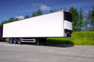 refrigerated truck trailer